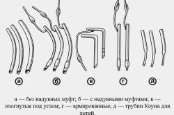 Интубационные трубки