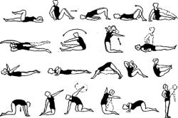 Комплекс ЛФК для коленного сустава