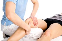 Пальпация колена при травме