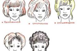 Прически под разные формы лица