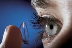 Контактные линзы при восстановлении зрения