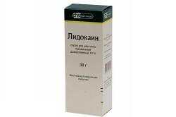 Лидокаин спрей для обезболивания
