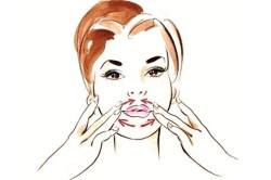 Массаж для увеличения губ