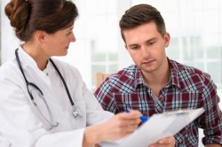 Консультация врача  по поводу наркоза