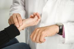 Контроль за пульсом во время наркоза