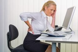 Сидячая работа - причина геморроя
