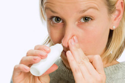 Спрей для лечения искривления носовой перегородки